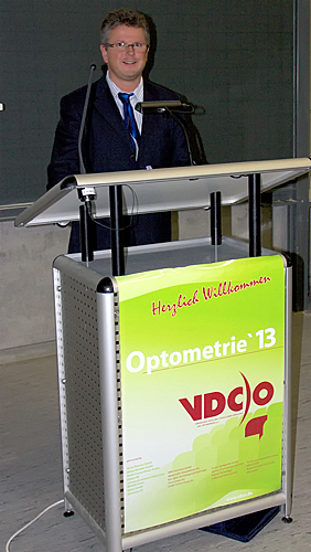 2013 – Weiterbildung: Kongress der VDCO in Aalen mit eigenen Vorträgen